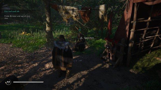Nachdem Eivor Estrid erfolgreich entführt und Birstan so die Möglichkeit verschafft hat, will der Aldermann jagen gehen.