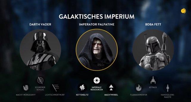 Wählt euren Sith