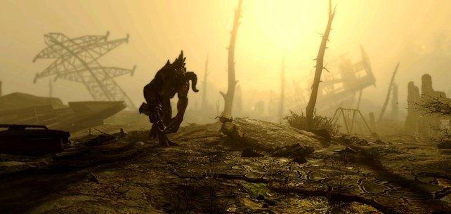 Im Ödland streifen viele unheimliche Kreaturen umher.