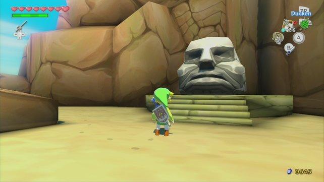 Ohne die Kraftarmbänder kommt ihr nicht hinein in den Tempel.