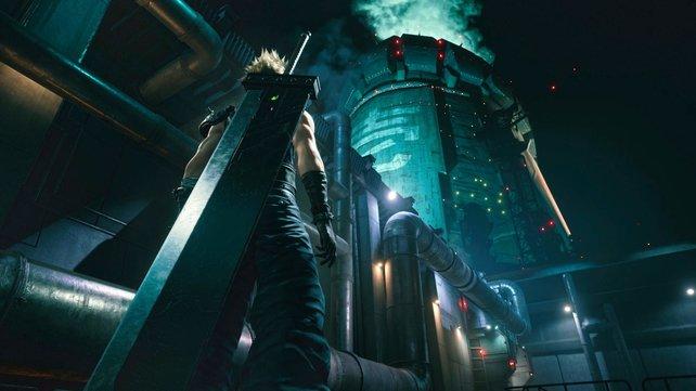 Wegen des Makos errichtete Shinra gewaltige Reaktoren, welche nun die Stadt mit Energie versorgen.