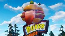 Durrr-Burger taucht in einer echten Wüste auf