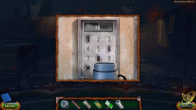Gebt beliebige Zahlen ein und wendet dann den Kaffee auf die Tastatur an, um zu sehen, welche Zahlen ihr drücken müsst.