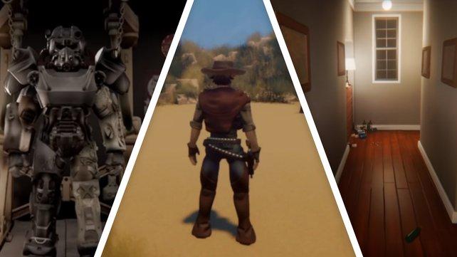Fallout 4, Red Dead Online und P.T.: Dreams-Spieler haben erstaunliche Nachbildungen erstellt.