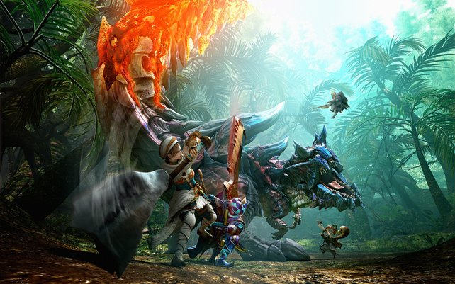 In Monster Hunter Generations geht die Jagd bald weiter.