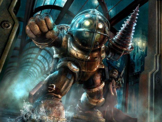 Die Bioshock-Reihe holte ich mir im Sale auf Steam.