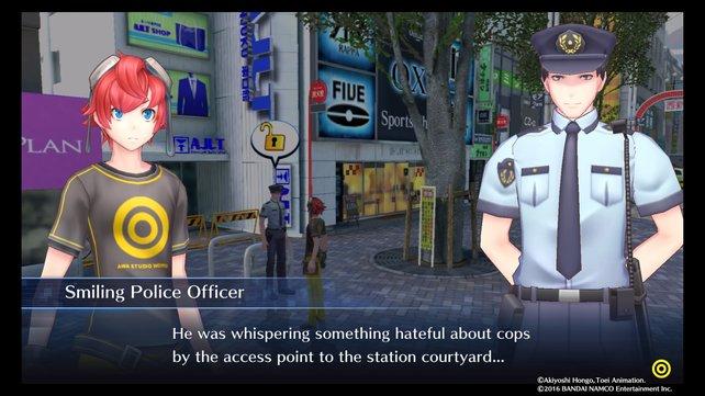 Der nette Polizist in Shinjuku gibt euch einen entscheidenden Fakt mit auf den Weg.