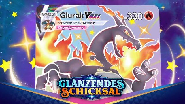 Glurak Vmax ist die wertvollste Karte im Pokémon Sammelkartenspiel: Glänzendes Schicksal.