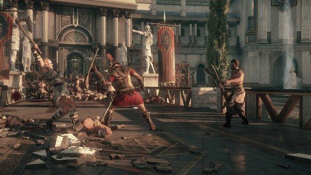 In Ryse - Son of Rome stehen mehr der Spielspaß und die Action im Vordergrund.