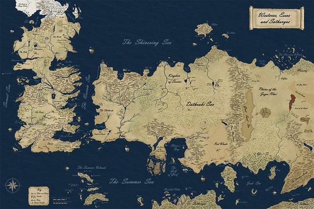 Die Welt von Game of Thrones ist groß und abwechlungsreich.