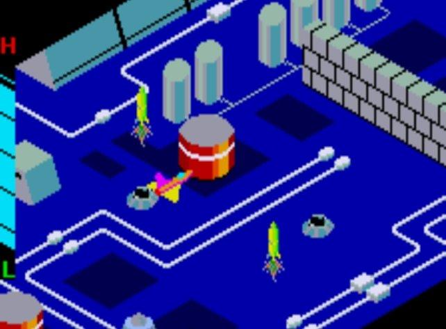 Einer der besten Münzfresser aller Zeiten: Zaxxon für Spielhallenautomaten.
