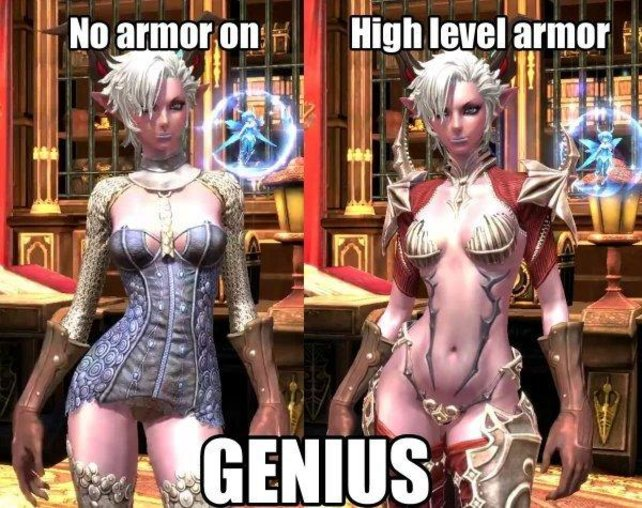 Ein Beispiel für Sexismus in Videospielen: Eine derartige Kleidung hat nicht viel mit einem emanzipierten Videospielcharakter gemein.