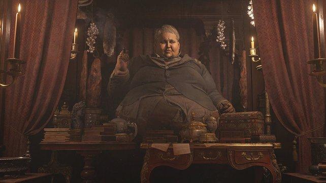 Der Duke serviert euch in Resident Evil 8 leckere Mahlzeiten.