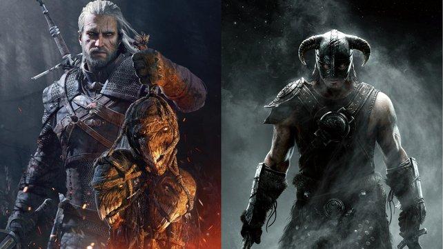 Dovahkiin trifft auf Geralt: Eine Mod bringt ein den Witcher-Gameplay nach Skyrim.