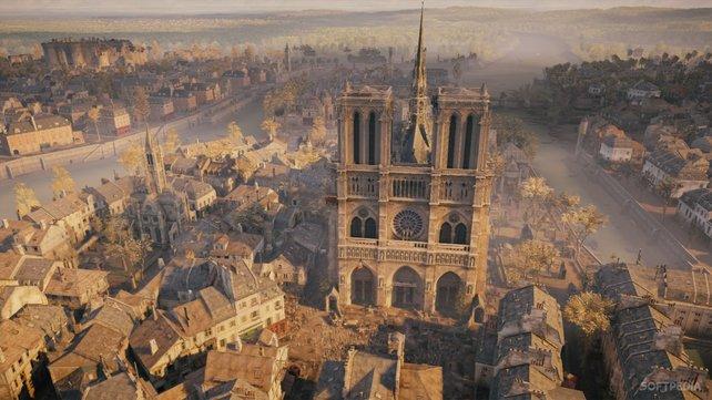"""Das Erschaffen einer historischen Open World ist das Steckenpferd der """"Assassin's Creed""""-Entwickler."""