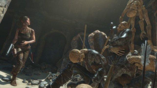 Eine gute Karte ist auf in Rise of the Tomb Raider nicht ersetzbar.