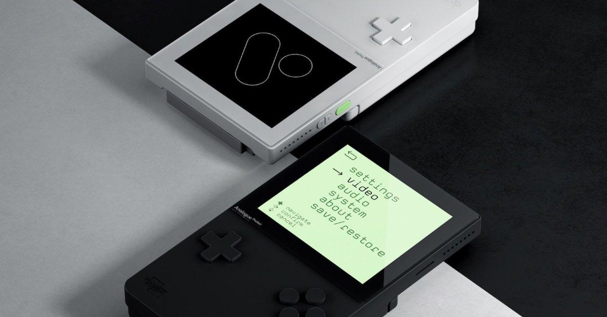 Analogue Pocket | Neue Hardware ist mit 3.000 Klassikern kompatibel