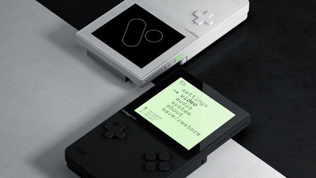 Das Design des Analogue Pocket ähnelt dem Nintendo Game Boy.