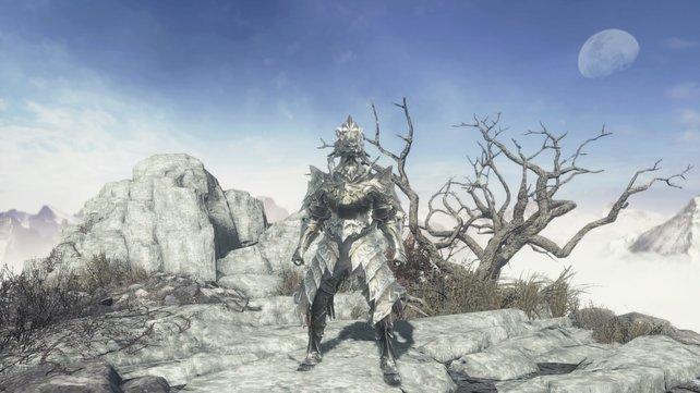 Das ist die goldene Löwenrüstung von Ornstein aus Dark Souls.