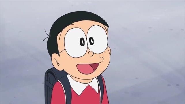 Der Stein des Anstoßes: Nobita aus Doraemon.