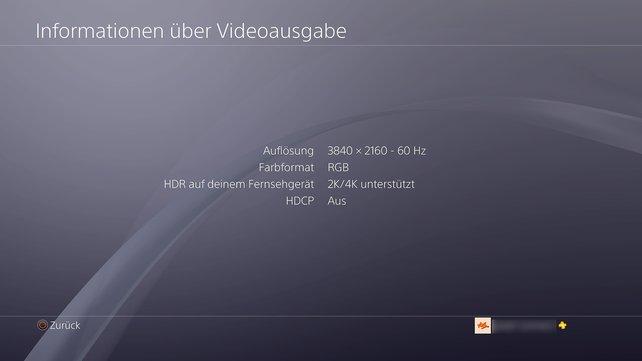 """Auf der PS4 checkt ihr unter """"Sound und Bildschirm"""", ob das aktuelle Setup passt."""