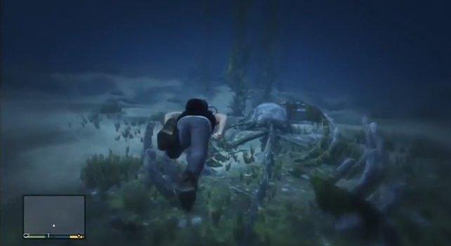 GTA Online: Im Ozean befindet sich noch viel mehr als nur Schiffwracks.