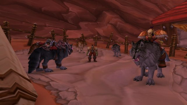 Der Mount-Händler der Orcs in Orgrimmar bietet sowohl seltene als auch epische Reittiere an.