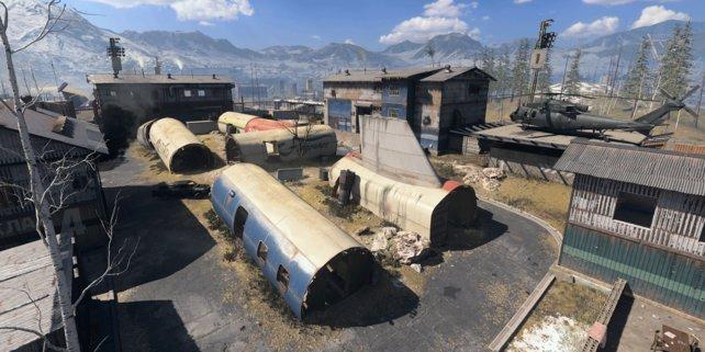 Mit Zhokov Scrapyard kehrt ein Klassiker aus Modern Warfare 2 zurück.