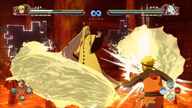 Einer der vielen neuen Charaktere: Kaguya Otsutsuki