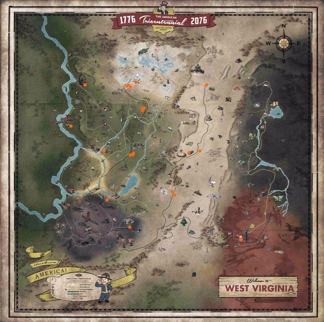Auf der Karte seht ihr mit orangen Punkten alle Händler markiert, die wir bisher finden konnten.