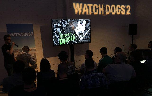 Es ist soweit: Ubisoft zeigt Watch Dogs 2 der Öffentlichkeit.