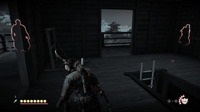 Schleicht in die Burg, tötet heimlich die Wachen und erklimmt den Turm, um einen Überblick zu gewinnen.