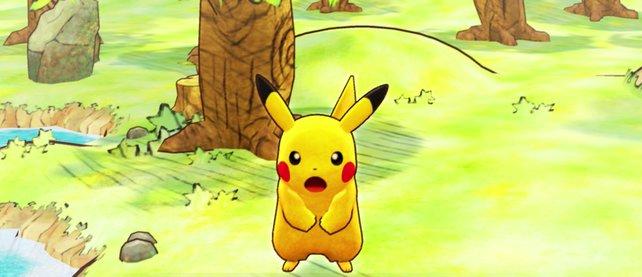 Ob Pikachu so erstaunt schaut, weil es die ersten Wertungen zu Pokémon Mystery Dungeon: Retterteam DX gelesen hat?