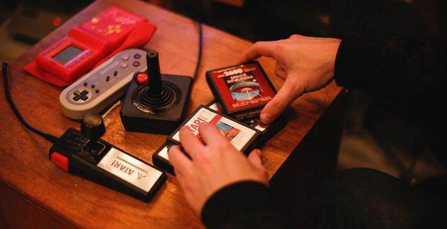 Alte Atari-Spiele warten auf euch.