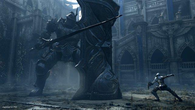 Dies ist einer der ersten Bosse von Demon's Souls - doch es gibt noch viele mehr.