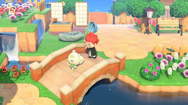 """Nein, eure """"Animal Crossing: New Horizons""""-Bewohner mit Keschern zu hauen, bringt nichts."""
