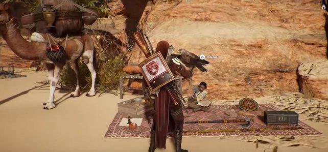 Der kleine Junge Reda versorgt euch täglich mit neuen Quest auf dem Nomadenbasar.