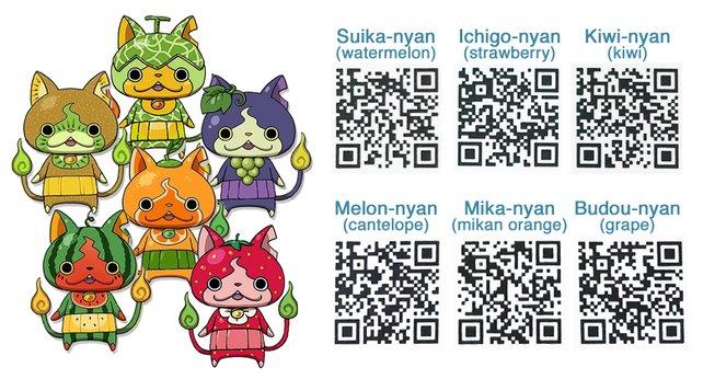 Schnappt euch die fruchtigen Katzen. (Quelle: watchofyokai.com)