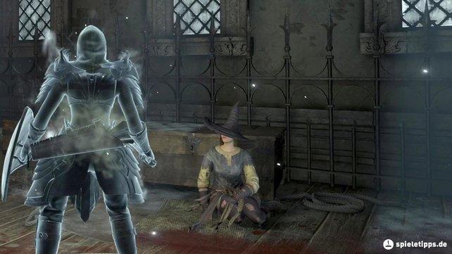 Yuria, die Hexe wird bei Demon's Souls: Remake in Boletaria festgehalten.