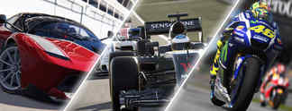 Showdown der Rennspiele: F1 2016, Assetto Corsa oder Valentino Rossi?