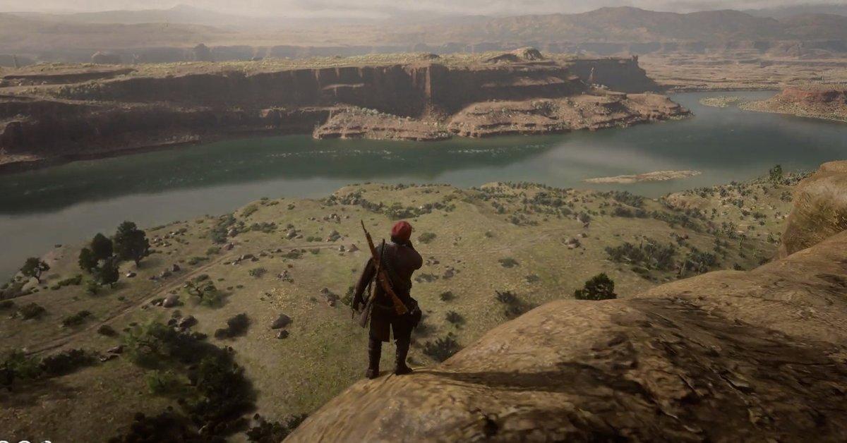Red Dead Redemption 2   So kotzt ihr euch beim Sturz vom Berg in Sicherheit
