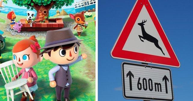 Aus einem coolen Spieletitel wird auf Deutsch plötzlich eine Verkehrswarnung.