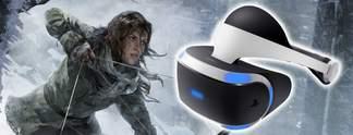 Tests: Nachtest: Rise of the Tomb Raider für PS4 mit PSVR - lohnt sich das?