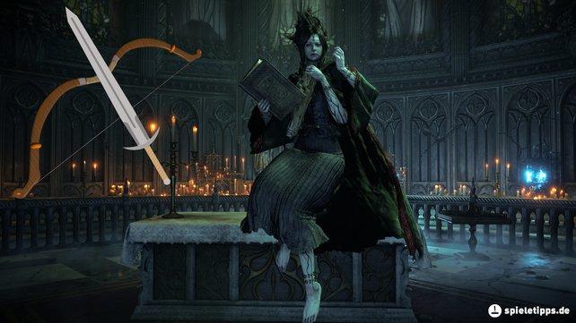 Götzenbild ist euer Endgegner in Welt 3-1 von Demon's Souls.
