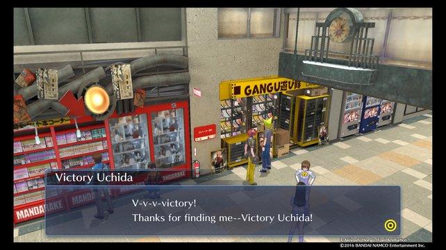 Victory Uchida könnt ihr bereits zu Beginn dieses Kapitels im 3.Floor des Broadways finden.