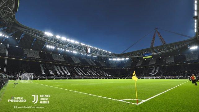 """Das """"Allianz Stadium"""" von Juventus Turin basiert im Spiel auf einem 3D-Scan des Originals. Der Detailgrad reicht damit beinahe an die Realität heran."""