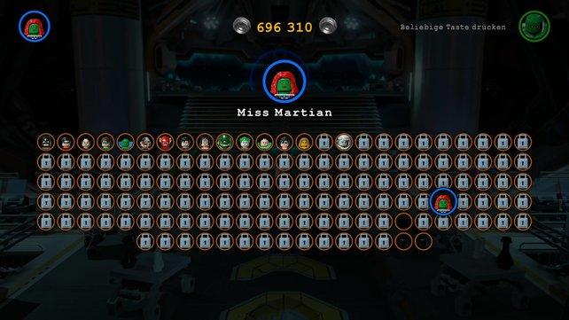 Satte 140 Charaktere könnt ihr freischalten.