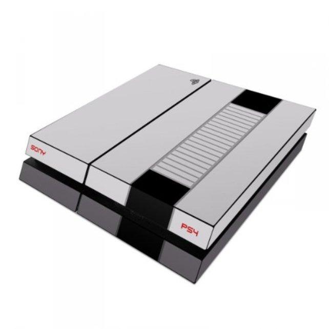 PS4 - Skins, Folien und Aufkleber: NES-Look.