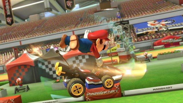 Ihr fragt euch, wie ihr die Antenne in Mario Kart 8 loswerdet? Die Antwort gibt es in unserem Guide.