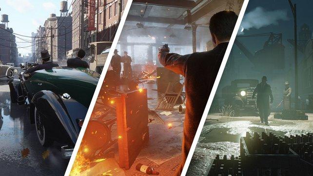 Der Microsoft-Store war zu vorschnell: Dieser und weitere Screenshots zur Mafia Trilogy schlüpften durch.